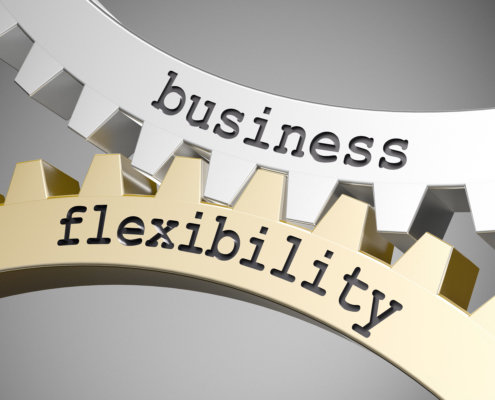 business flexibility / Cogwheel